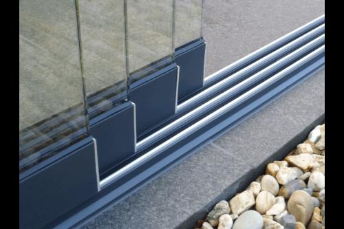 Skydeglas til terrasseoverdækning